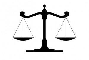 weegschaal juridisch
